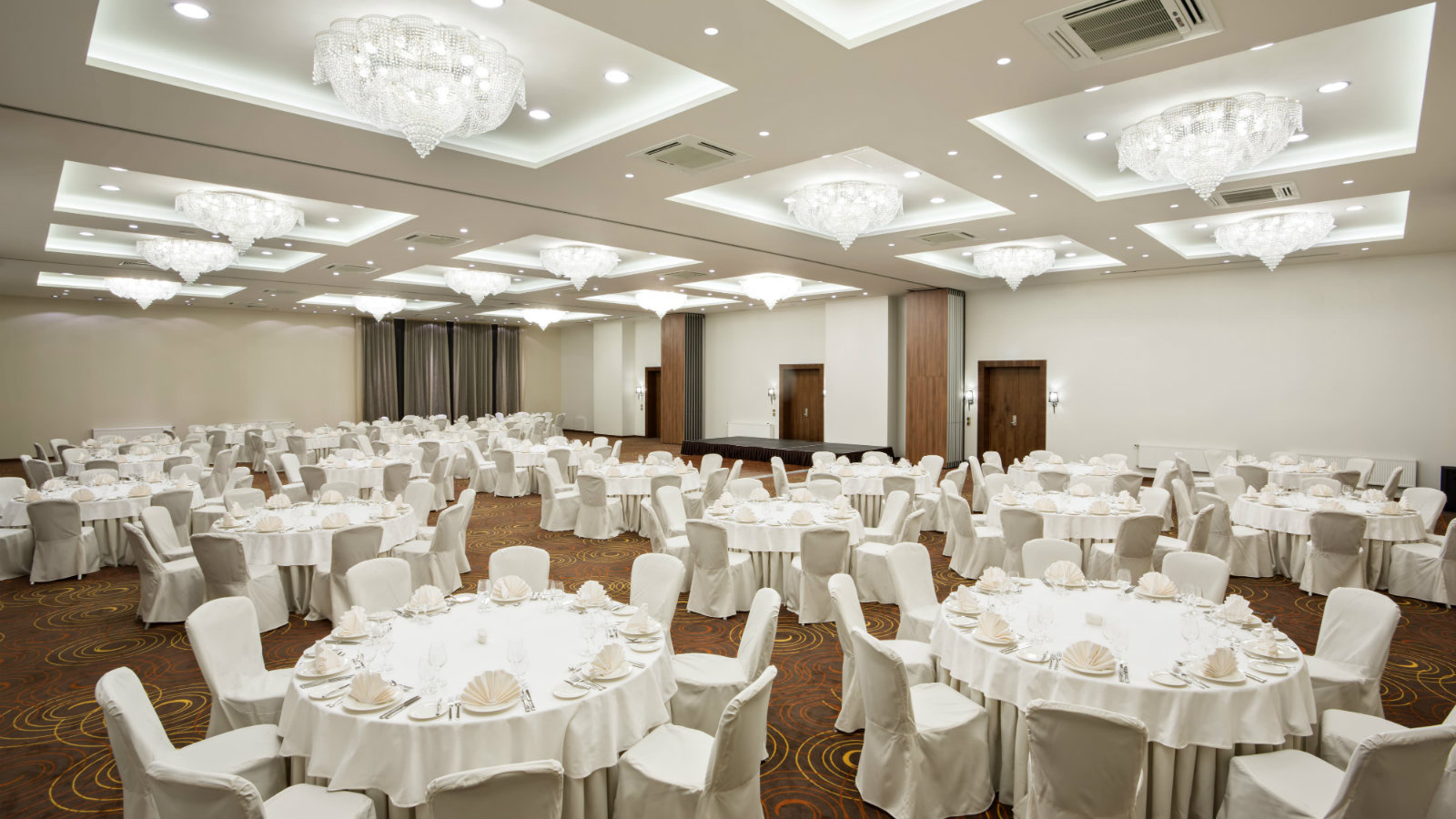 Grand Ballroom for banquets and festive celebrations at Sheraton Moscow Sheremetyevo